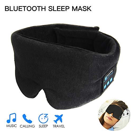 Innovationen-bluetooth-headset (Globents Bluetooth Schlafmaske kabellos Smart-Sleep Musik Travel Sleeping Headset für Schlaf Reisen Entspannung)