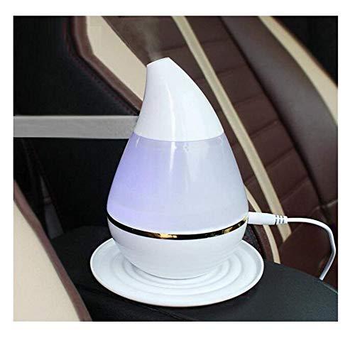 250ml Auto Wasser Drop Typ Cool Mist Luftbefeuchter Mini USB Aroma Diffusor Luftreiniger mit 7 bunte LED Lichter (Ultraschall Luftbefeuchter Drop Crane)