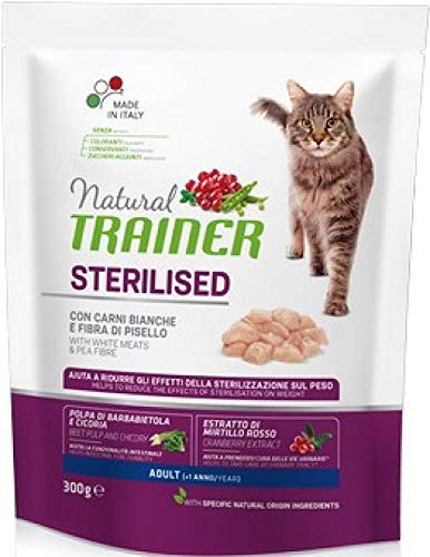 Natural TR. Gatto Adult Sterilised Carni Bianche Gr 300