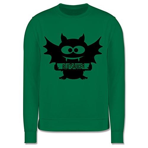 Kinder - Fledermaus - 12-13 Jahre (152) - Grün - JH030K - Kinder Pullover ()