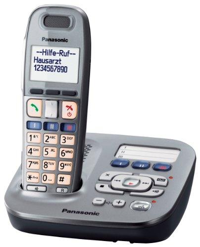 Panasonic KX-TG6591GM Schnurlostelefon graphit