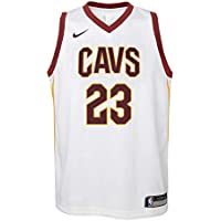 Nike NBA Cleveland Cavaliers Lebron James 23 LBJ 2017 2018 Association Edition Jersey Official, Camiseta