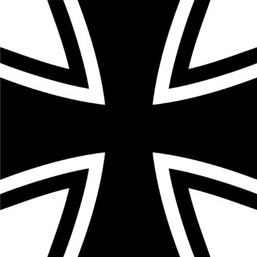 Aufkleber Bundeswehr Gösch Kreuz Sticker Autoaufkleber