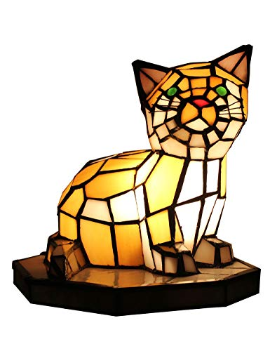 Tiffany europäischen kreative bunte Mutter & Kind Schildkröte Schildkröte Hahnrei warme Katze Tischlampe Kinder Lampe Nachtlicht