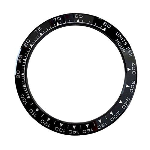Nero sostituzione ceramica orologio lunetta Made for Rolex Daytona