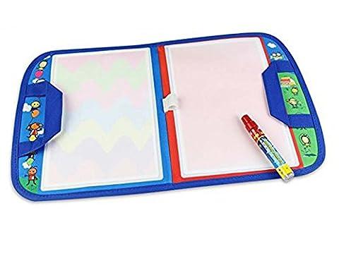 Rangebow Take me anywhere SM 46 x 30 cm Aqua eau dessin Mat et Doodle Magic Pen