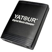Yatour - Adattatore con interfaccia USB, SD, AUX, MP3 con Bluetooth per Mazda 323 (MPV) dal 10/2002, 626, Demio dal 01/2000, Premacy dal 10/2001, 3 BK fino al 12/2008, 5 fino al 06/2008, 6 GG/GY/GH fino al 03/2010, RX8 (dal 9.55, esclusi 9.81, 10.1), MX-5 NB/NC dal 01 al