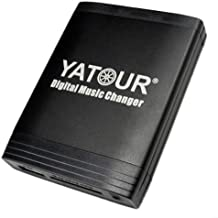 Yatour - Adaptador y manos libres Bluetooth para Becker Silverstone 2660 7860 con radio Becker Traffic Pro (High Speed), DTM (High Speed), Indianapolis (Pro), Online Pro 7800 y Porsche CR/CDR 11 21 31 (USB, SD, AUX, MP3)