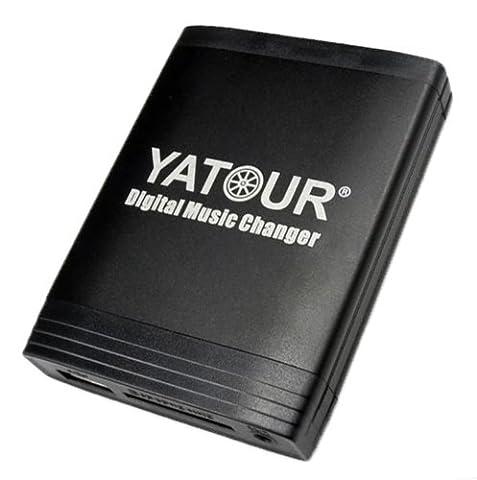 Yatour Adaptateur USB/SD/AUX/MP3 et adaptateur mains libres Bluetooth pour Honda