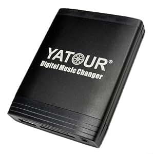 Yatour Adaptateur USB/SD/AUX/MP3 pour Suzuki et radio Clarion VXZ / Suzuki Jimny / Swift / SX4 / Grand Vitara avec radio Clarion Original