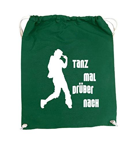 Borse Da Commedia - Danza About - Figure - Turn Bag - 37x46cm - Colore: Nero / Rosa Verde / Bianco