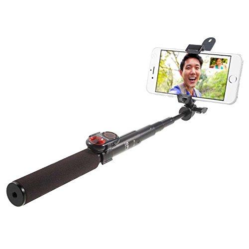 Galleria fotografica ASHUTB Kit Selfie S6per Smartphone iOS e Android nero/rosso