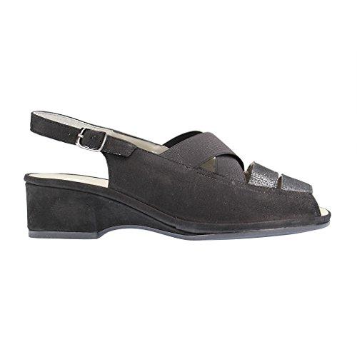 dames ara sandales 12-37034-08 noir schwarz