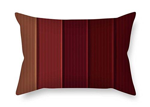 Kissenbezüge von Holz 45,7x 66cm/45von 65cm beste Passform für Ihn Erwachsene Stuhl Home Wohnzimmern Kids Mädchen Zwei Seiten
