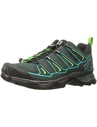 Salomon X Ultra 2 W, Zapatillas de Deporte Exterior para Mujer, Verde (Bistro Green/Scarab/Ceramic), 36 EU