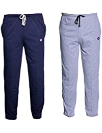 VIMAL Men's Cotton Trackpants (Pack of 2)