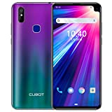 CUBOT Max 2 Dual-SIM 4G Smartphone ohne Vertrag 6,8 Zoll 4GRAM+64GROM, Android 9.0 Oreo, 5000mAh Akku Handy Ohne Vertrag, Face ID, GPS(Aurora)