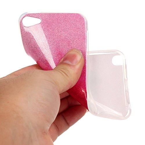 iPhone Case Cover IPod cas de touch5,6, coloré modèle TPU étui souple en silicone de caoutchouc cas de couverture de peau pour IPod touch5,6 ( Color : C , Size : IPod Touch5 6 ) K