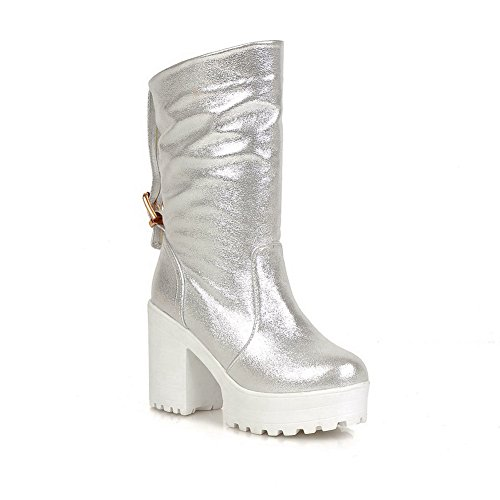 BalaMasa ,  Damen Chelsea Boots, Silber - Silber - Größe: 40