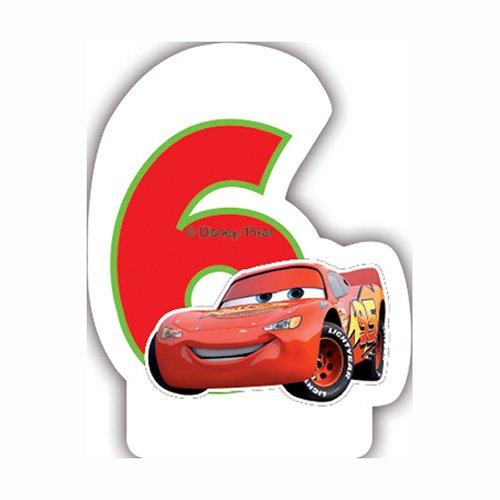 Neon Disney Cars 5ème Bougie d'anniversaire 5201184828908