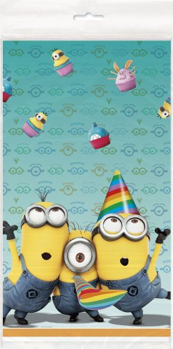 Despicable Me 137x 213cm Party Tisch Cover (One Size)