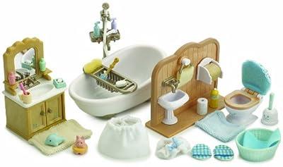 Sylvanian Families - Baño de juguete para casas de muñecas de Sylvanian Families