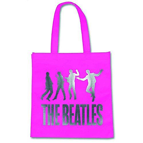 The Beatles Einkaufstasche Eco Shopper Bag Jump Band Logo Nue offiziell -