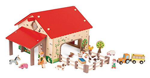 Janod - J06483 - Ferme Happy Farm Bois