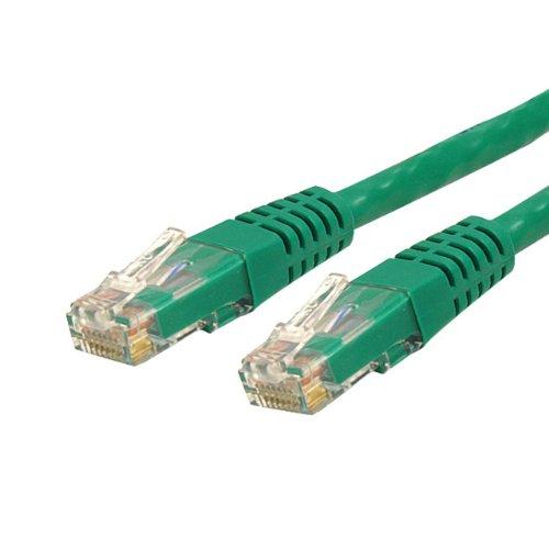 STARTECH.COM C6PATCH3GN Ethernet-Kabel, 3 ft, grün, Stück: 1 - Cat6 Grün Utp Patch