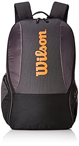 Wilson Rucksack Tour Team II Backpack, schwarz, 44 x 33 x 26 cm, 38 Liter, WRZ854695