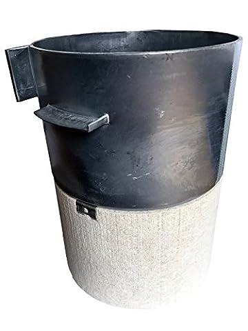 Wolf combustion Peigne Pot avec isolation