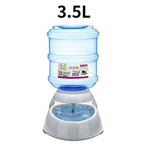 1pc Automatische Haustierfutter-Getränk-Zufuhr-Hundekatze-Zufuhr-Wasser-Schüssel-Teller 3.5L trinkendes Gerät (Fisch-schüssel Trinken)