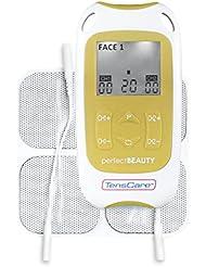 TensCare Perfect Beauty Appareil d'Electrostimulation Polyvalent pour Tonifier Corps/Visage