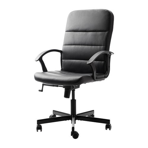 IKEA-Torkel-Silla-de-oficina-giratoria-color-negro