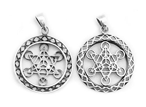 spirit-of-avalon-anhanger-amulett-metatrons-wurfel-heilige-geometrie-925-sterling-silber-meditation-