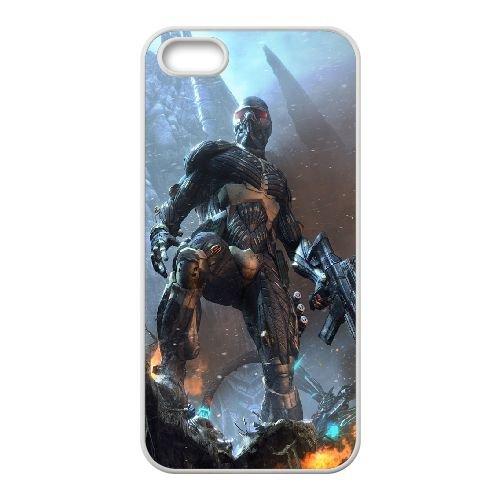 Crysis coque iPhone 4 4S Housse Blanc téléphone portable couverture de cas coque EBDXJKNBO16096