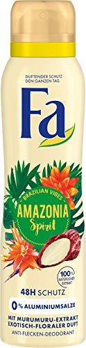 Fa Deospray Amazonia Spirit Brazilian Vibes, 1er Pack (1 x 150 ml)