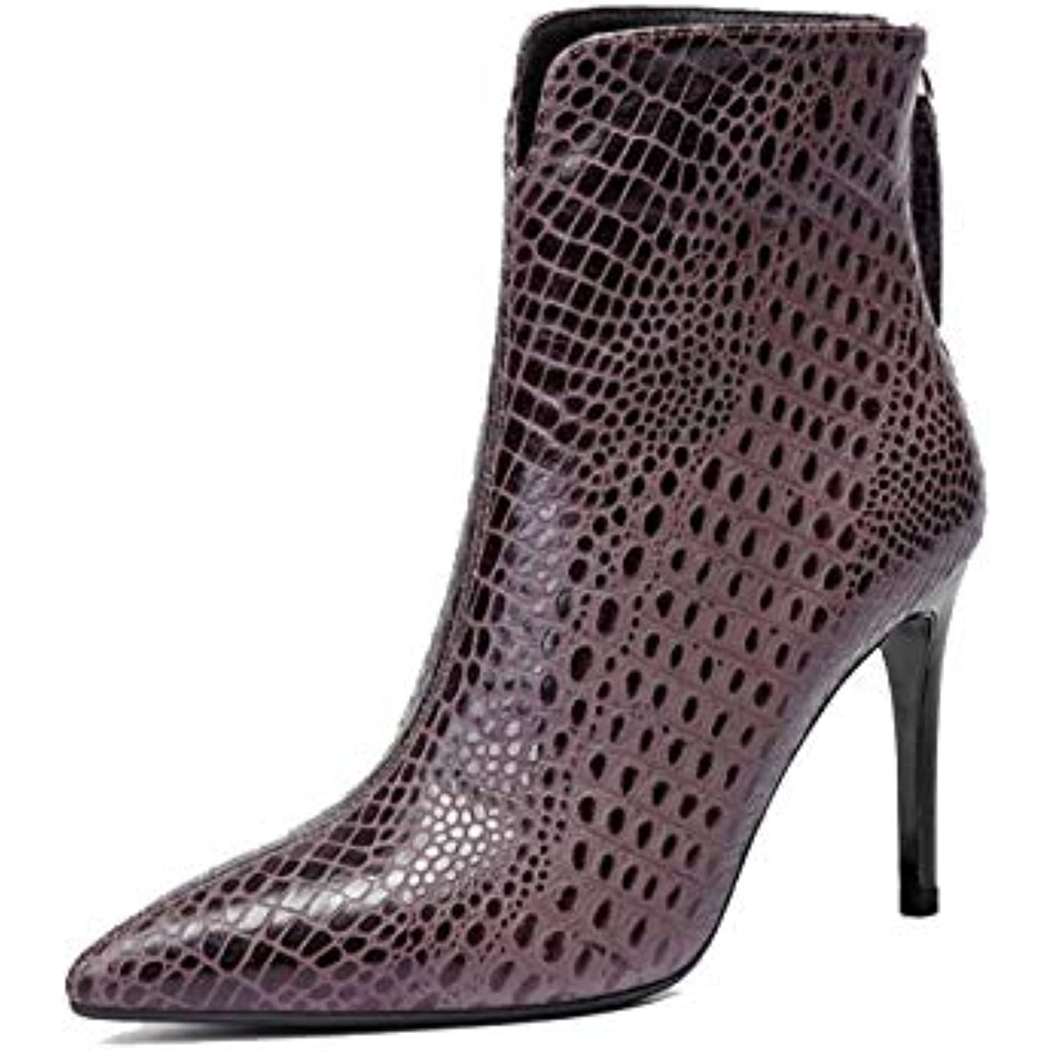 5be9045348a54 ZPEDY Chaussures pour Femmes, Bottines, Bottines, Femmes, Talons Hauts,  Sexy,