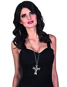 Boland BOL72054 - Collar con cruz gótica para adultos