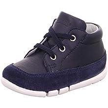 Superfit Baby Boys' Flexy Trainers, Blue (Blau 80), 4.5 UK