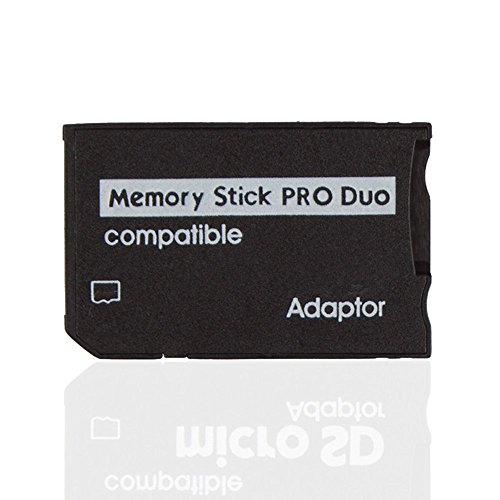 Micro sd tf per memory stick ms pro duo reader adattatore convertitore custodia