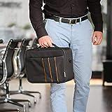 celexon projector bag EconomyLarge - 41x29x15 cm - hard shell frame - water repellent & washable - 100% polyester - black