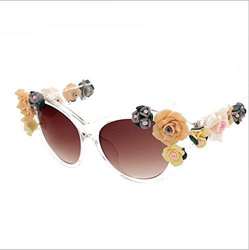 Polarisierte Sportart Sonnenbrille Fahrerbrille mit unzerbrechlichem Anti-Kratzer-Rahmen Anti-Diebstahl für Männer und Frauen Radfahren Fahren Fischen Fahren Wandern Golf ( Color : Crystal clear (Nerd Paar Kostüme)