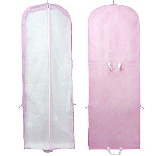 HIMRY [5er St.] Atmungsaktiver Kleidersack Schutzhülle für Brautkleider / Abendkleider / Anzüge /...