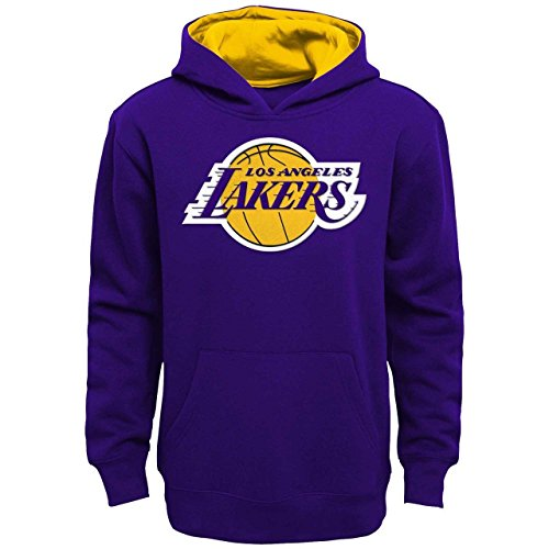 """Los Angeles Lakers Youth NBA """"Optimum"""" Pullover Hooded Sweatshirt"""