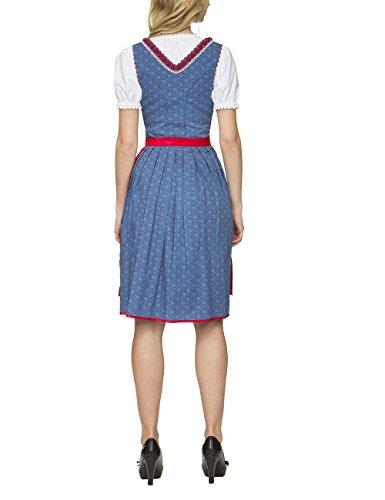 Stockerpoint Ricarda, Vestito Tradizionale Austriaco Donna Blu