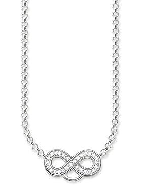 Thomas Sabo Damen-Charm-Kette Charm Club 925 Sterling Silber Länge von 38 bis 44 cm X0205-051-14-L42v