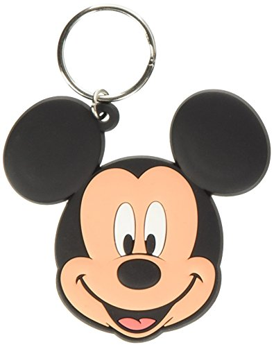 Disney Mickey Mouse Gummi Schlüsselanhänger (Mouse Mickey Gummi)