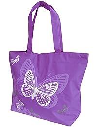 FLOSO - Sac à main à motifs papillons