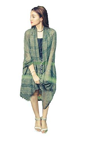 Japonais Féminins Foulards En Coton Sergé Largeur De Bande Longueur De 90cm 180cm 5